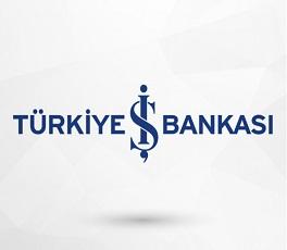 İş bankası gri sade logo