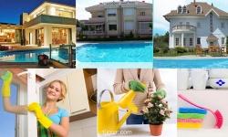 İzmir Villa Temizleme - İzmir de villa temizleme