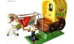 çocuk eğlence makinası texas at arabası